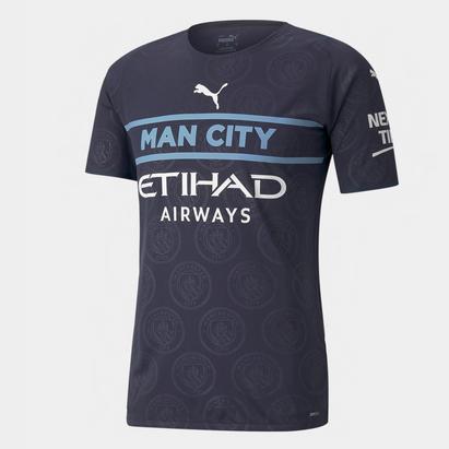 Puma Manchester City Third Shirt 2021 2022