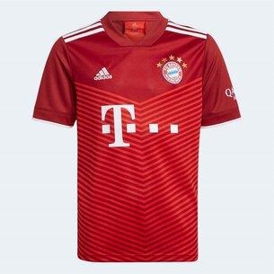 adidas Bayern Munich Home Shirt 2021 2022 Junior