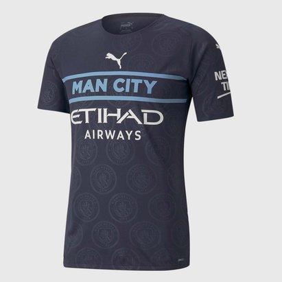 Puma Manchester City Third Shirt 2021 2022 Junior