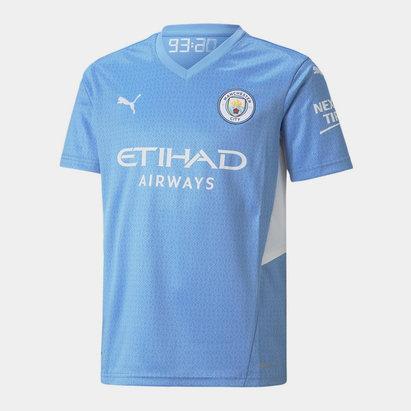 Puma Manchester City Home Shirt 2021 2022 Juniors
