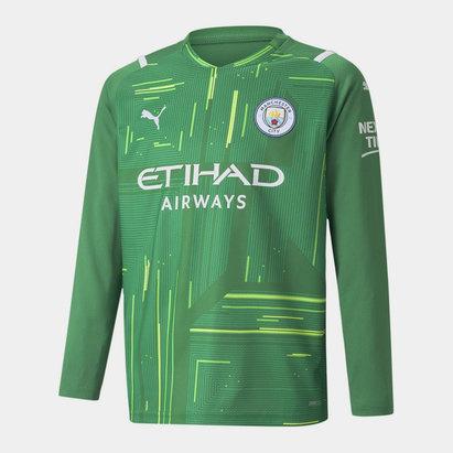 Puma Manchester City Home Goalkeeper Shirt 2021 2022 Junior