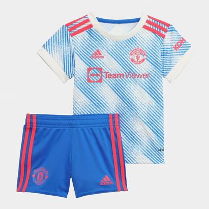 adidas Manchester United Away Baby Kit 2021 2022