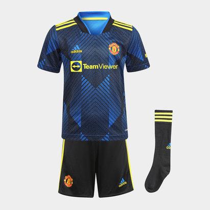 adidas Manchester United Third Mini Kit 2021 2022