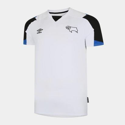 Umbro Derby County Home Shirt 2021 2022 Junior