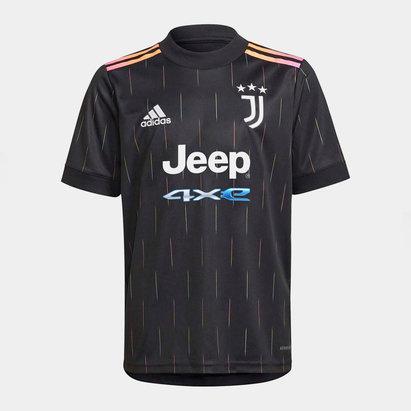 adidas Juventus Away Shirt 2021 2022 Junior