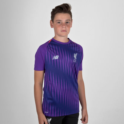 New Balance Liverpool FC 18 19 Elite Kids Matchday Football Training Shirt b8042268b