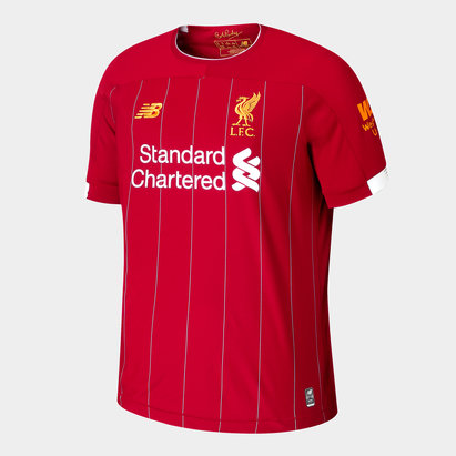 New Balance Liverpool FC 19/20 Kids Home S/S Football Shirt