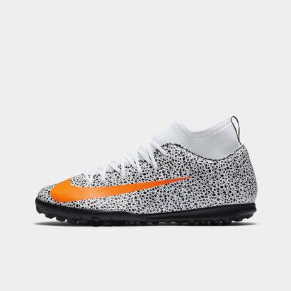 Nike Mercurial SF7 Astro Turf Football Boots Juniors
