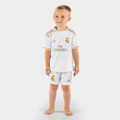adidas Real Madrid 19/20 Home Mini Kids Replica Football Kit