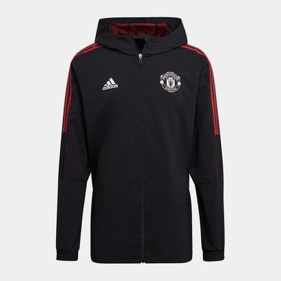 adidas Manchester United Presentation Jacket 2021 2022 Mens
