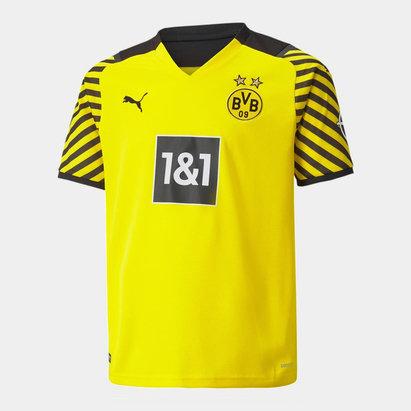 Puma Borussia Dortmund Home Shirt 2021 2022 Junior