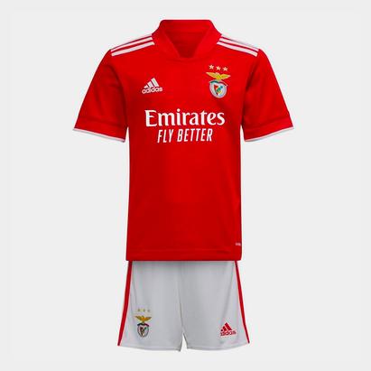 adidas Benfica Home Mini Kit 2021 2022