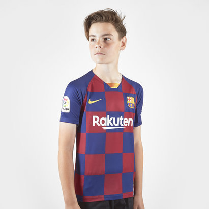 Nike Barcelona Home Shirt 2019 2020 Junior