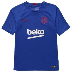 Nike FC Barcelona Breathe Strike Top Junior Boys