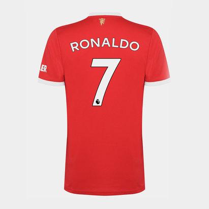 adidas Manchester United Home Ronaldo Shirt