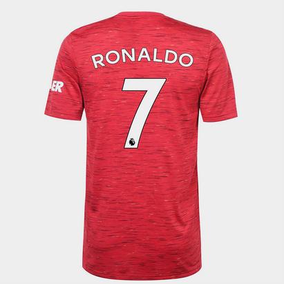 adidas Manchester United Home Ronaldo Shirt 20/21