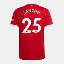 Manchester United Jadon Sancho Home Shirt 2021 2022