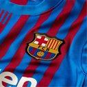 Barcelona Home Shirt 2021 2022 Junior