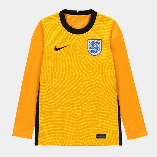 England 2020 Kids Home Goalkeeper Football Shirt