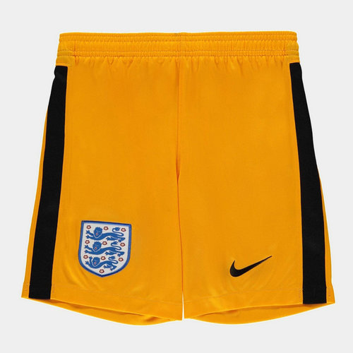 England 2020 Kids Home Goalkeeper Football Shorts