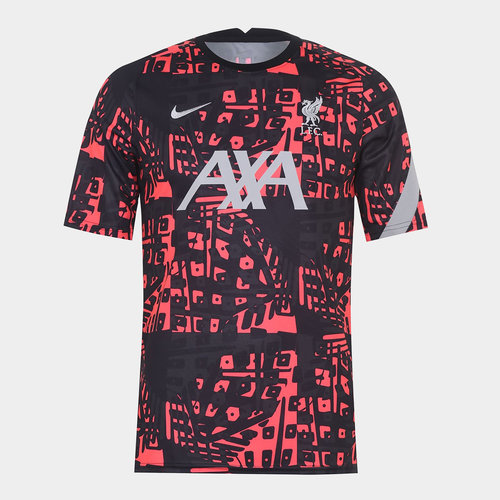 Liverpool European Pre Match Shirt 20/21 Mens