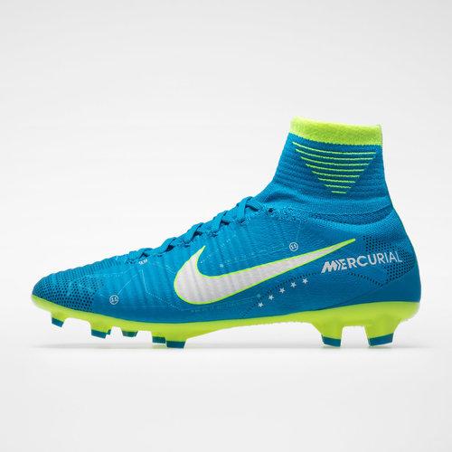 factory authentic 16948 a0fd9 Nike Mercurial Superfly V D-Fit Neymar Kids FG Football ...