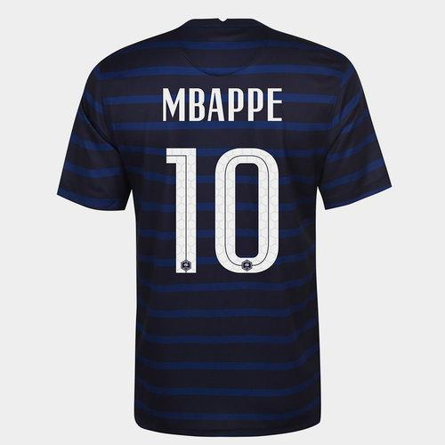 France Kylian Mbappe Home Shirt 2020