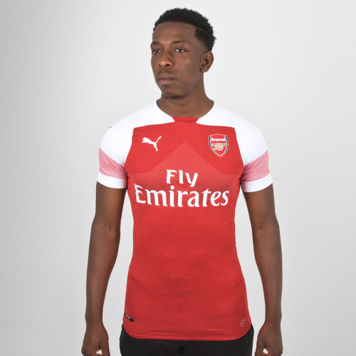 20a6157e5 Puma Arsenal 18 19 Home S S Authentic Players Football Jersey