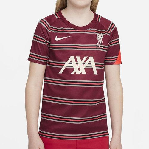 Liverpool Pre Match Shirt 2021 2022 Junior