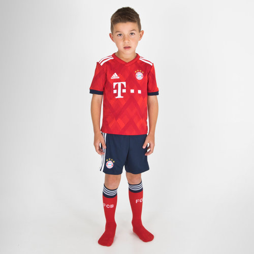 ca25dcfe5 adidas Bayern Munich 17 18 Home Mini Kids Replica Football Kit