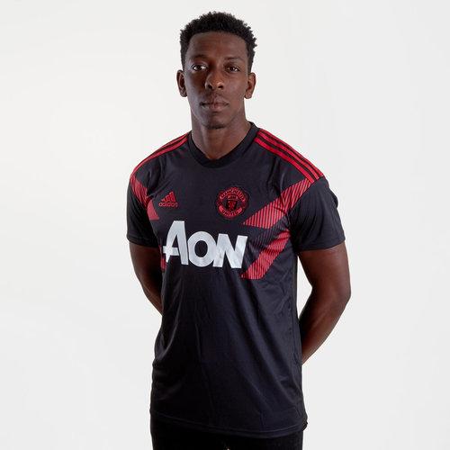 ca80f5b3b adidas Manchester United 18 19 Pre-Match Football Training Jersey ...