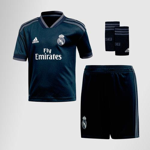 ee89f3b12 adidas Real Madrid 18 19 Away S S Mini Kids Football Jersey