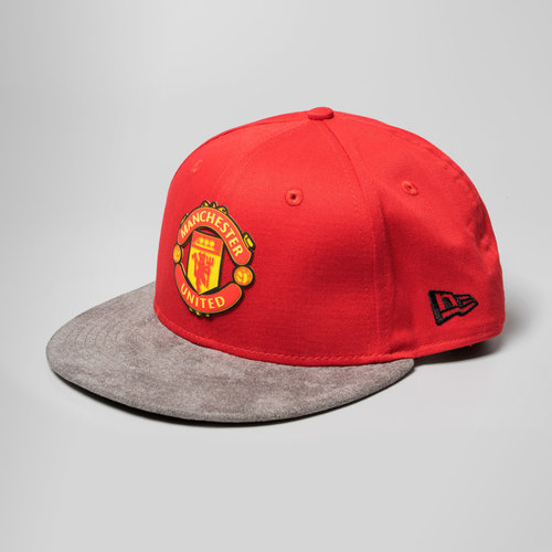 ae125f5db67 New Era Manchester United 9Fifty Suede Vize Football Snapback Cap ...