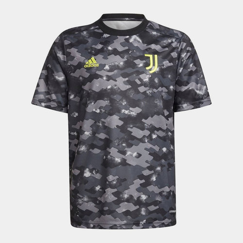 Kids Juventus Pre Match Shirt 2021 2022