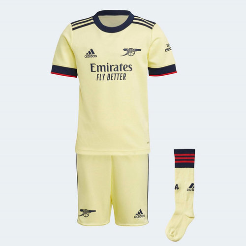 Arsenal Away Mini Kit 2021 2022
