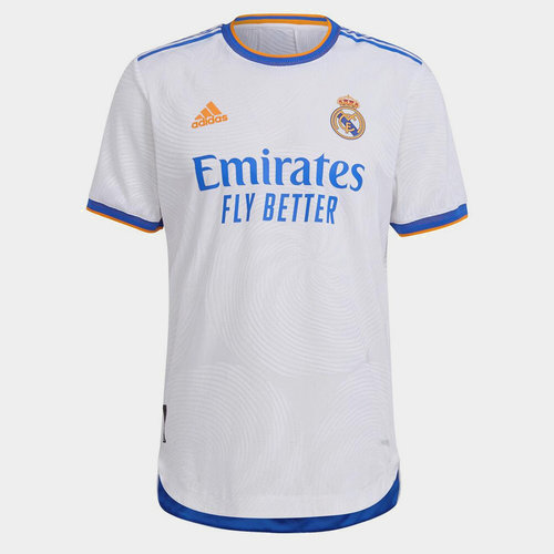 Real Madrid Authentic Home Shirt 2021 2022