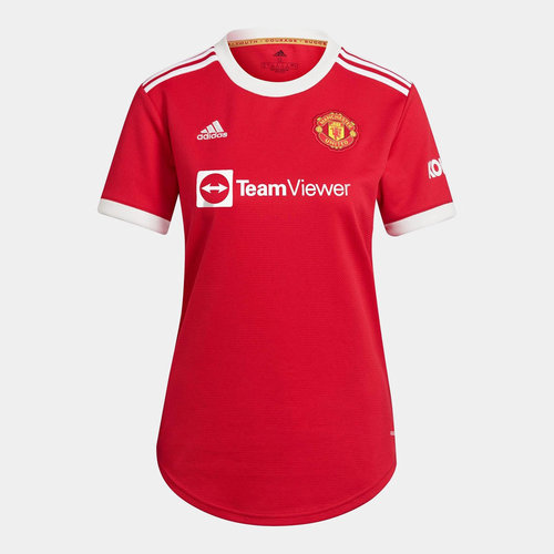 Manchester United Home Shirt 2021 2022 Ladies