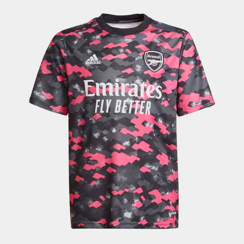 Arsenal Pre Match Shirt 2021 2022 Junior