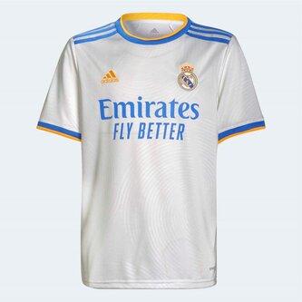 Real Madrid Home Shirt 2021 2022 Junior