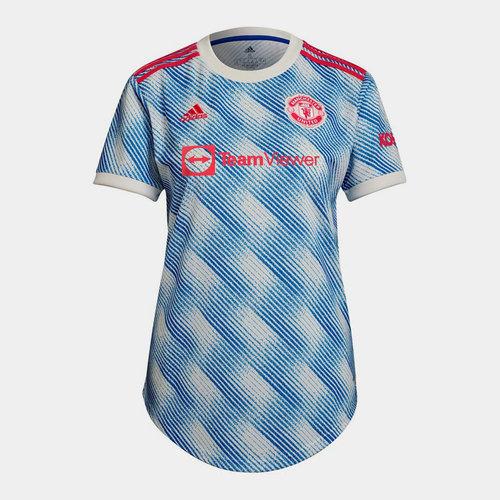 Manchester United Away Shirt 2021 2022 Ladies