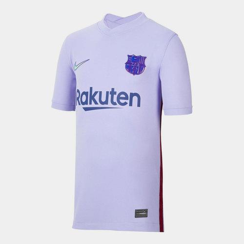 Barcelona Away Shirt 2021 2022 Junior